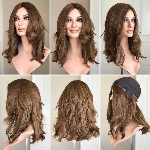 """W142 Mckenna European Human Hair Wig 20"""""""