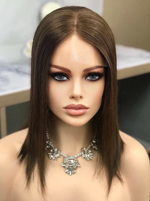 T19 McKenna Remy Human Hair Topper 8x8 16'