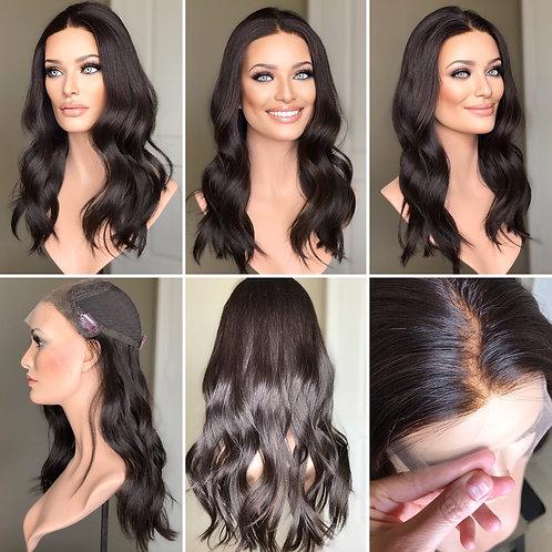 """T81 Mckenna Premium Human Hair Lace Top Whopper 10x10 20"""""""