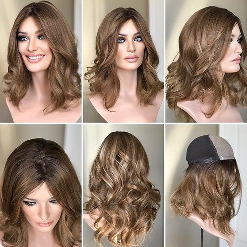 """W130 Mckenna Premium Human Hair 17""""- held Michelle"""