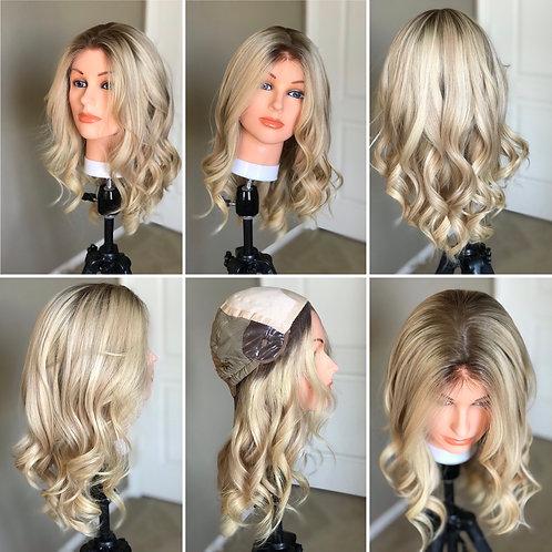 W87 Mckenna Premium Human Hair  Wig 20'