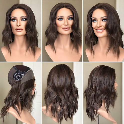 "W113 IWIG Premium Human Hair Wig 16"""