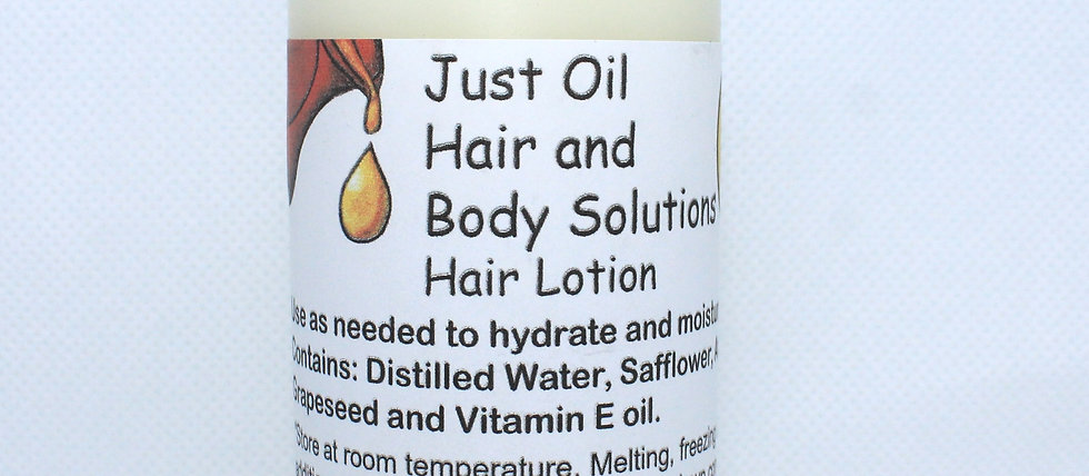 Hydrating Hair Lotion (Now Peppermint scented)