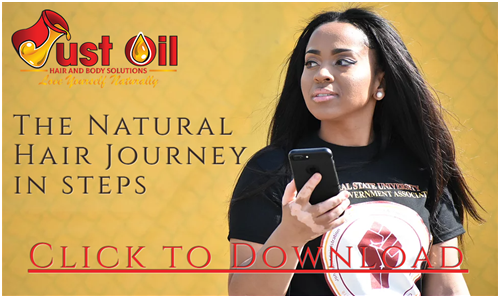 The Natural Hair Journey in Steps