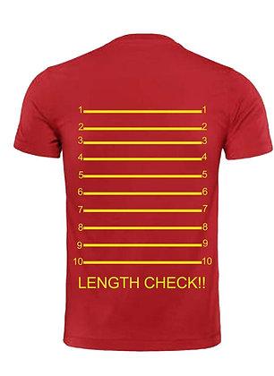 Length Check T shirt