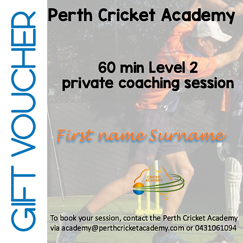 Gift voucher private coaching (1 hrs)