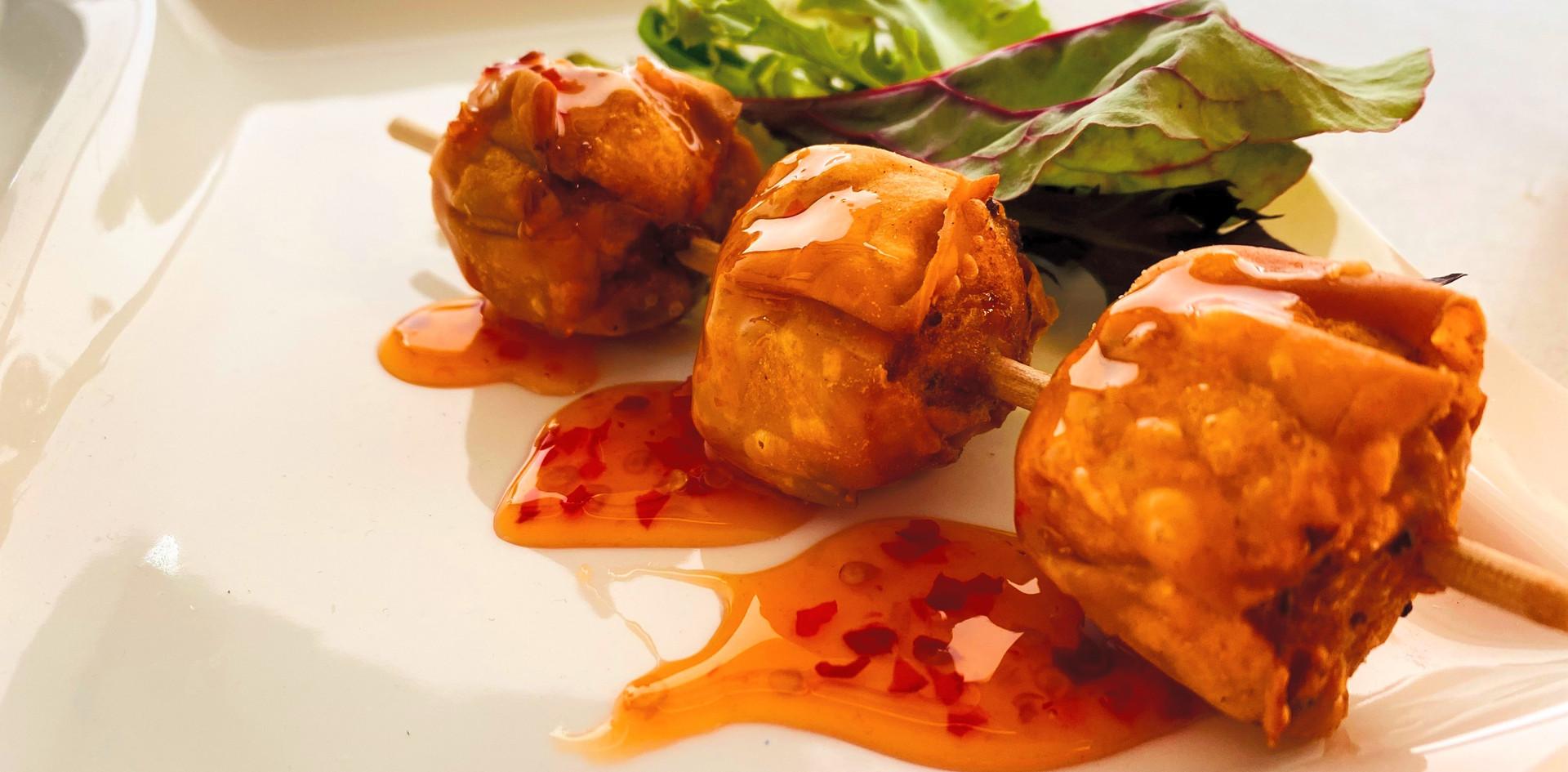 Fritert dumplings