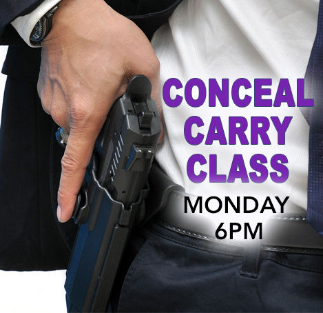 Conceal Carry Class (CCW Permit)