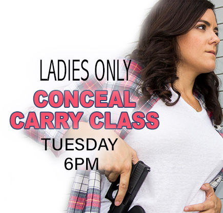 Conceal Permit Class for Ladies Only
