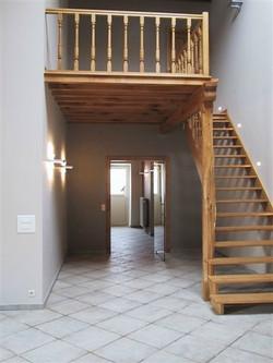 Escalier et hall