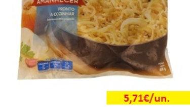 bacalhau desfiado congelado Amanhecer R 500gr.