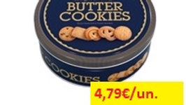 bolachas butter cookies lata Dancake 454gr.