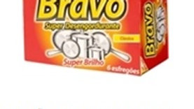 esfregão super desengordurante Bravo