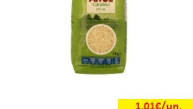 arroz carolino Amanhecer R 1kg.