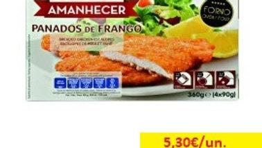 panados frango Amanhecer R 360gr.