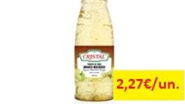 vinagre vinho branco bio Cristal 0,50lt.