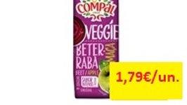 sumo 100% beterraba/maçã Compal Veggie 1lt.