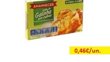caldo em cubos galinha Amanhecer R