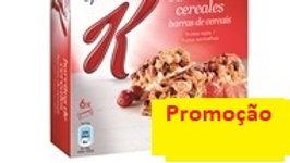 barras cereais frutos vermelhos Special K Kellogg's 6uni.