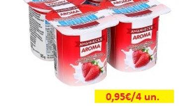 iogurte sólido aroma morango Amanhecer R