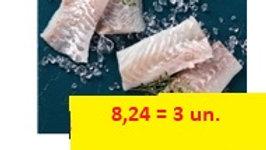 porção de bacalhau 3 unidades