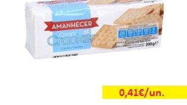 bolacha cream cracker Amanhecer R 200gr.