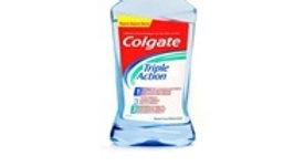 elixir bocal tripla ação Colgate 500ml.