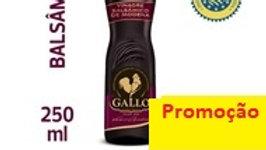 vinagre balsâmico de Modena Gallo 250ml.