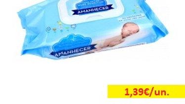 toalhitas bebé Amanhecer R 64uni.