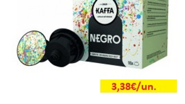 café cápsulas negro Kaffa R 16uni.