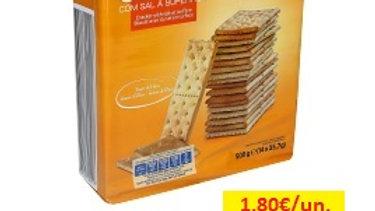 bolacha crackers com sal Amanhecer R 500gr.