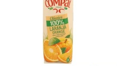 sumo 100% laranja Compal R 1lt