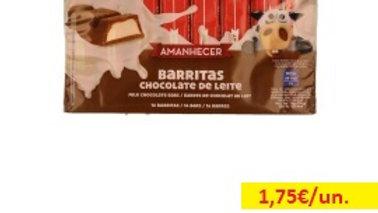 barra de cereais chocolate Amanhecer R 200gr.