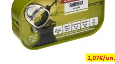 sardinha em azeite Amanhecer R