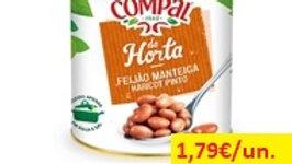feijão manteiga cozido Compal