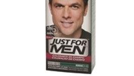 coloração temporária homem moreno natural Just For Men