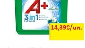detergente máquina roupa cápsulas 3 em 1 alpine a+