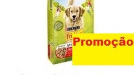 ração para cão adulto vitafit active com carne de vaca Purina Friskies 10kg.