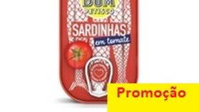 sardinha em tomate Bom Petisco 120gr.