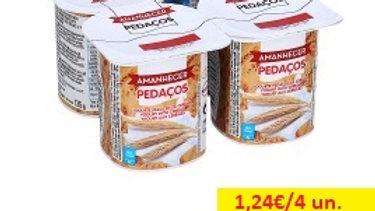 iogurte sólido pedaços cereais Amanhecer R