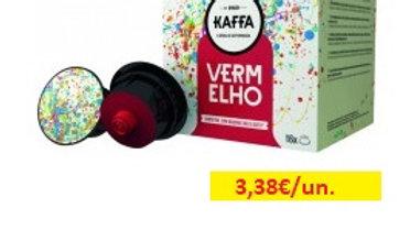 café cápsulas vermelho Kaffa R 16uni.