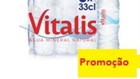 água mineral natural Vitalis 6x33cl.