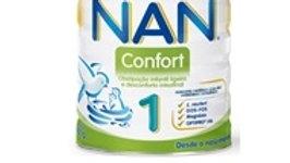 leite infantil confort 1 desde o nascimento Nan 800gr.