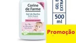 gel de banho extra suave Corine De Farme 500ml.