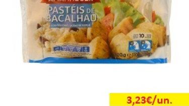 pastéis de bacalhau congelados Amanhecer R 320gr.