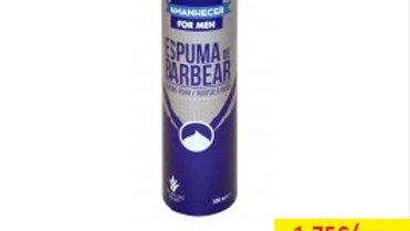 espuma barbear aloe vera Amanhecer R