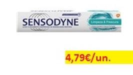 pasta dentrífica limpeza&frescura Sensodyne