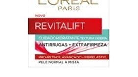 creme de dia revitalift clássico peles mistas L'oréal Paris