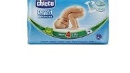 fraldas bebé dry fit tamanho 4 9-15Kg Chicco 38uni.