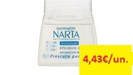 desodorizante roll on invisivel Narta Garnier